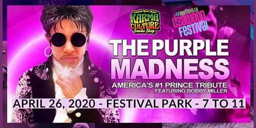 Prince Tribute Night: Purple Madness