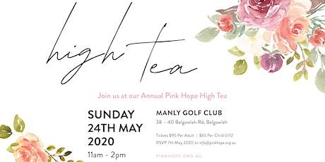 Pink Hope High Tea ~ Sydney 2020 tickets