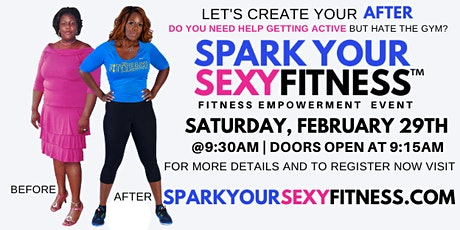 SPARK YOUR SEXY FITNESS EVENT  tickets