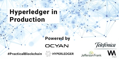 Hyperledger in Production tickets