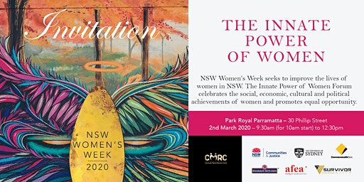 The Innate Power of Women Forum