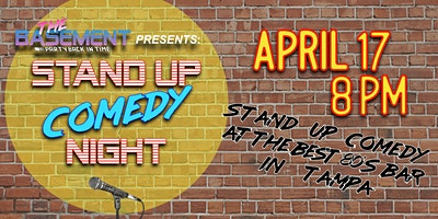 Stand Up Comedy Night @ The Basement!