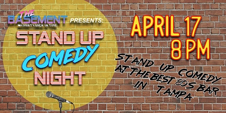 Stand Up Comedy Night @ The Basement! tickets
