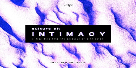 Culture Of: Intimacy tickets