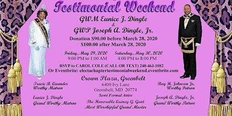 Electa #6 Testimonial Weekend in honor of GWM & GWP Dingle tickets