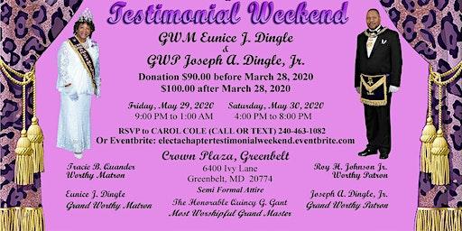 Electa #6 Testimonial Weekend in honor of GWM & GWP Dingle