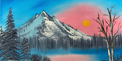 """April 4th Bob Ross Workshop at Devout Brewery """"Winter Frost"""""""
