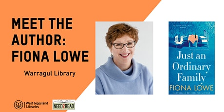 Meet the Author - Fiona Lowe @ Warragul Library tickets