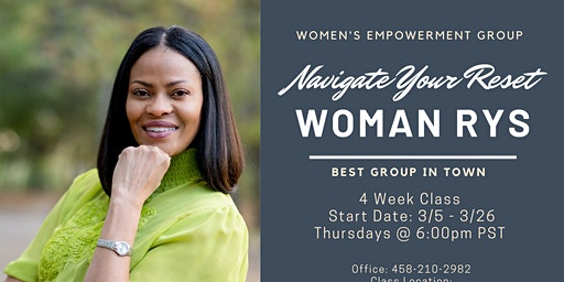 Navigate Your Reset - Women's Group