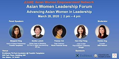 Asian Women Leadership Forum tickets