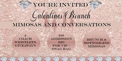 Galentines Mimosas and Conversations Brunch
