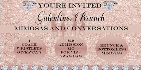 Galentines Mimosas and Conversations Brunch tickets