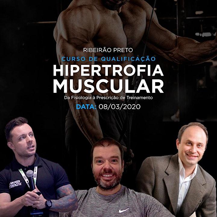 Imagem do evento Curso de Qualificação em Hipertrofia Muscular: Da Fisiologia à Prescrição