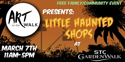 Art on the walk presents: Little Haunted Shops
