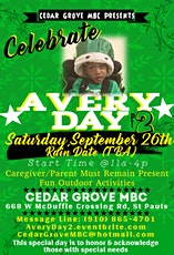Avery Day: Honoring & Acknowledging Those With Special Needs tickets