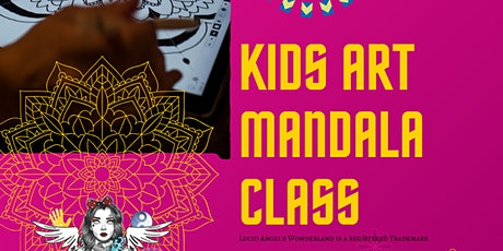 Mandala's for Kids Art Class tickets