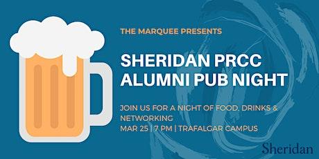 Sheridan PRCC Alumni Pub Night tickets
