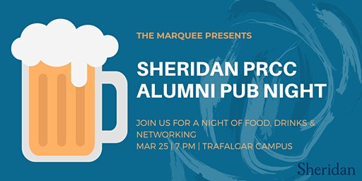 Sheridan PRCC Alumni Pub Night