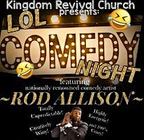 KRC presents-LOL Comedy Night The Sequel
