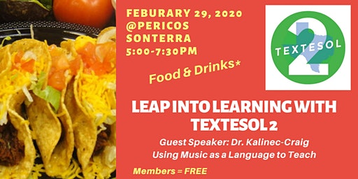 Leap into Learning with ELs: A networking event by TexTESOL II