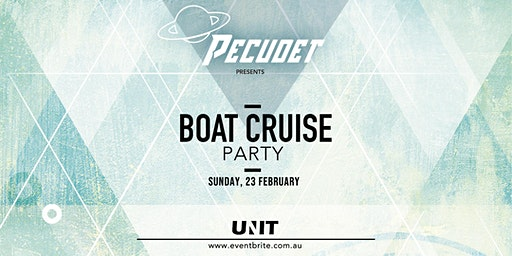 Pecudet Boat Party