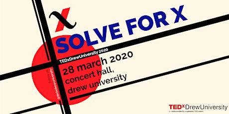 TEDxDrewUniversity 2020 tickets