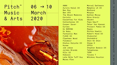 Pitch Music & Arts 2020 tickets