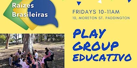 Playgroup Educativo - Brazilian Playgroup tickets
