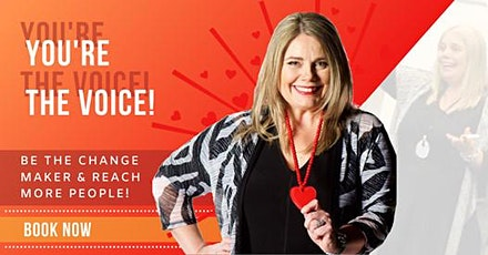 Brisbane Free Public Speaking Training - You're the Voice tickets