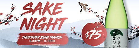 Sake Night tickets