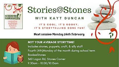 Stories @ Stones tickets