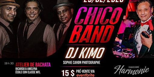 soirée latine avec chico-Band