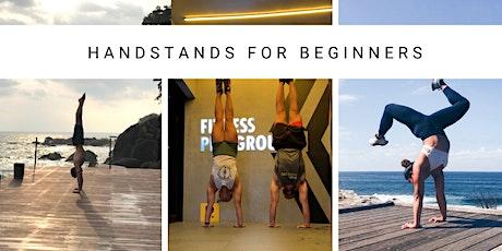 Handstands For Beginners tickets