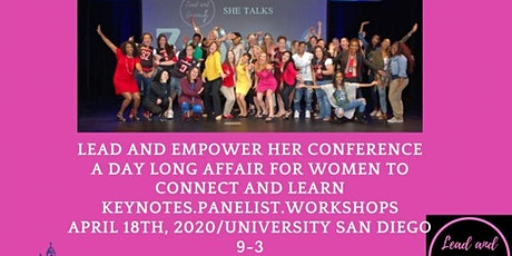 Lead and Empower Her Conference University of San Diego tickets