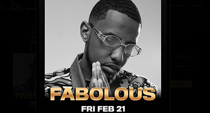 #1 VICTOR Es Guest List: Fabolous Drai's Nightclub Rooftop Party  tickets