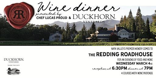 Wine Dinner Featuring Duckhorn Vineyards