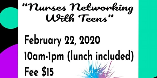 Nurses Networking with Teens