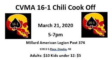 CVMA 16-1 Chili Cook Off