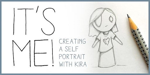 Create an original self portrait character with pencil and paper: For kids!