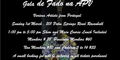 Matine of Fado from Portugal  tickets