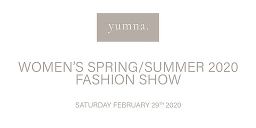 yumna Spring/Summer 2020 Collection Fashion Show