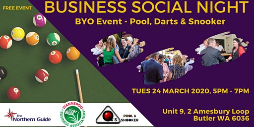 Free Business Networking Social Night - Butler