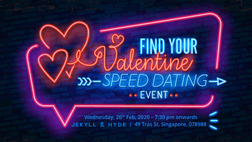 Find Your Valentine Speed Dating @ Jekyll & Hyde Bar
