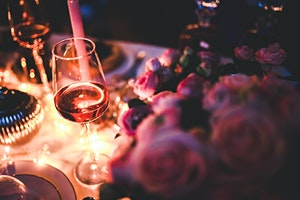 Love Yourself Roses and Rosé