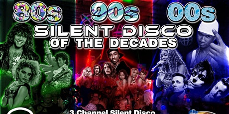 80s, 90s, 00s Silent Disco of the Decades at Buffalo RiverWorks - 9/19/20 tickets