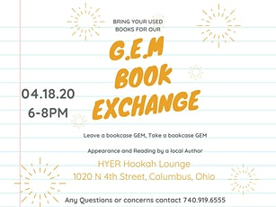 GEM presents: A Book Exchange tickets