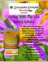 Caking with the Kids Spring Edition