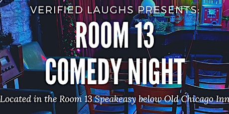 Room 13 Comedy tickets
