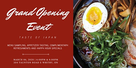 IPPON RAMEN Grand Opening: Taste of Japan tickets