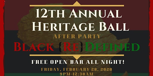 12th Annual Heritage Ball After Party